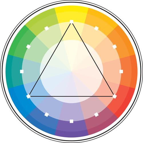 Колесо выбора цветов