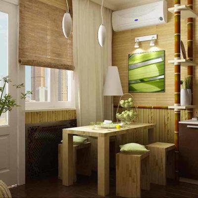 Бамбук в интерьере – практичные идеи применения - фото 14