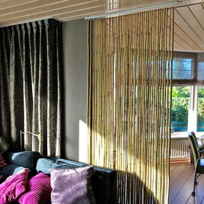 Бамбук в интерьере – практичные идеи применения - фото 1