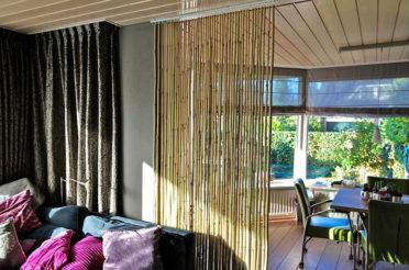 Бамбук в интерьере – практичные идеи применения