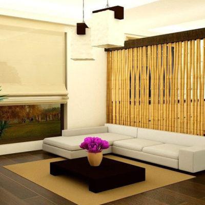 Бамбук в интерьере – практичные идеи применения - фото 5
