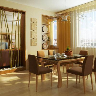 Бамбук в интерьере – практичные идеи применения - фото 11