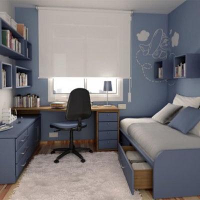 Дизайн детской комнаты для школьника - фото 1