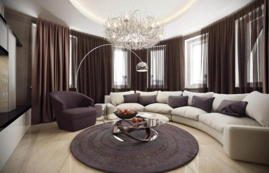 000 divan1 543x350 - Интерьер гостиных – свежие идеи и практичные решения