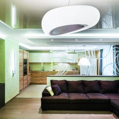 Декоративные перегородки для зонирования комнаты - фото 14