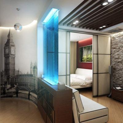 Декоративные перегородки для зонирования комнаты - фото 1