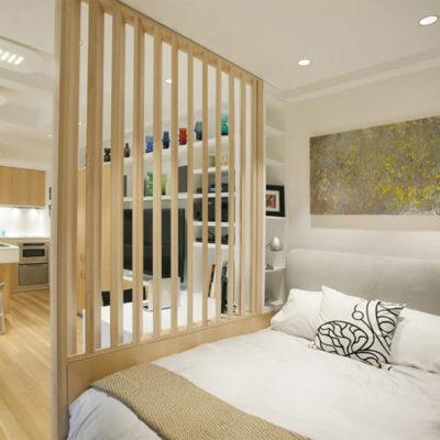 Декоративные перегородки для зонирования комнаты - фото 11