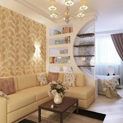 Декоративные перегородки для зонирования комнаты - фото 12
