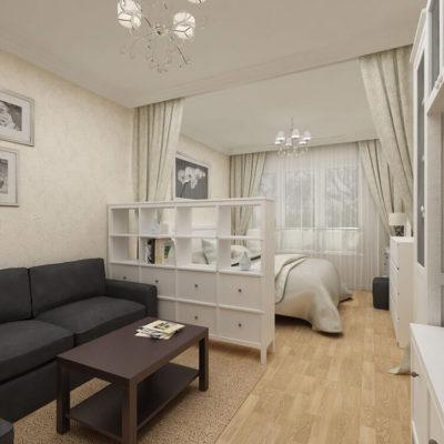 Декоративные перегородки для зонирования комнаты - фото 6