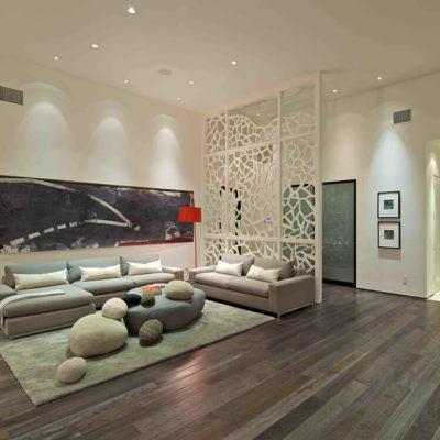 Декоративные перегородки для зонирования комнаты - фото 7