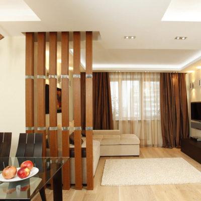 Декоративные перегородки для зонирования комнаты - фото 8