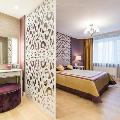 Декоративные перегородки для зонирования комнаты - фото 9