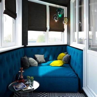 Дизайн балконов и лоджий: грамотно и со вкусом - фото 2