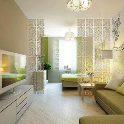 Декоративные перегородки для зонирования комнаты - фото 3