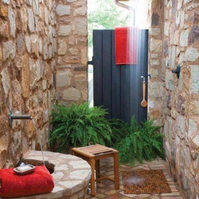 Как обустроить летний душ: советы и оригинальные идеи - фото 12