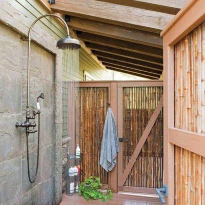 Как обустроить летний душ: советы и оригинальные идеи - фото 13