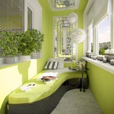 Дизайн балконов и лоджий: грамотно и со вкусом - фото 13