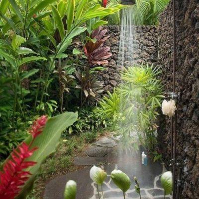 Как обустроить летний душ: советы и оригинальные идеи - фото 14