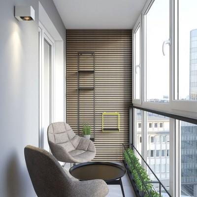 Дизайн балконов и лоджий: грамотно и со вкусом - фото 1