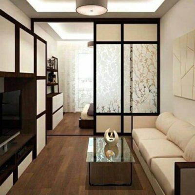 Декоративные перегородки для зонирования комнаты - фото 4
