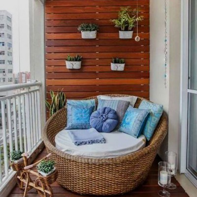 Дизайн балконов и лоджий: грамотно и со вкусом - фото 15
