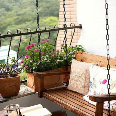 Дизайн балконов и лоджий: грамотно и со вкусом - фото 16