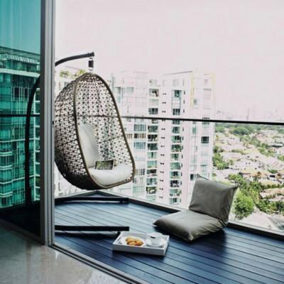 Дизайн балконов и лоджий: грамотно и со вкусом - фото 17
