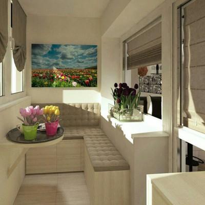 Дизайн балконов и лоджий: грамотно и со вкусом - фото 4
