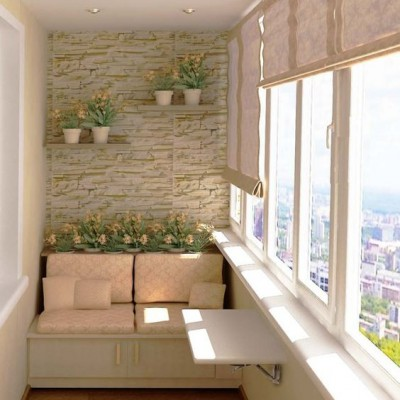 Дизайн балконов и лоджий: грамотно и со вкусом - фото 5