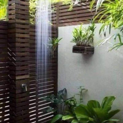 Как обустроить летний душ: советы и оригинальные идеи - фото 5