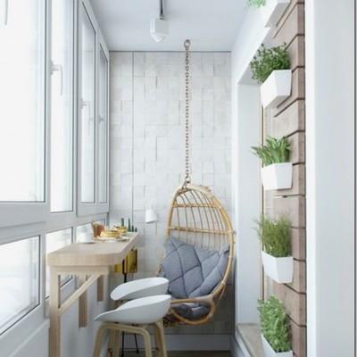 Дизайн балконов и лоджий: грамотно и со вкусом - фото 7