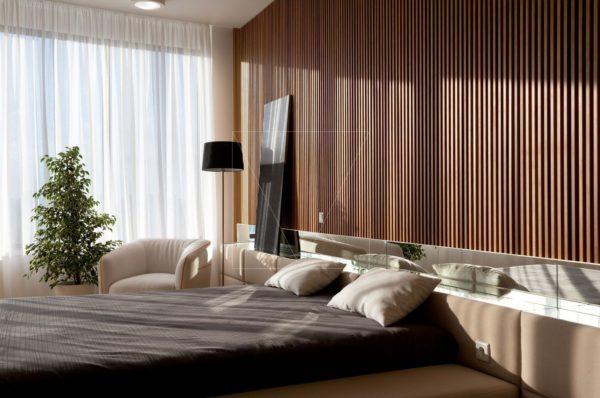 """Дизайн интерьера двухкомнатной квартиры """"Skyline минимализм"""" by Sergey Makhno Architects - фото 1"""
