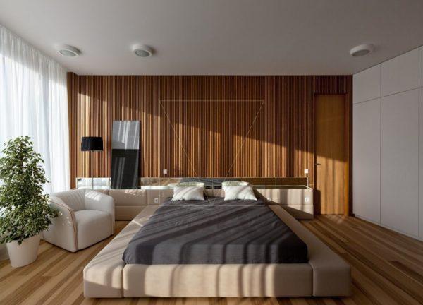 """Дизайн интерьера двухкомнатной квартиры """"Skyline минимализм"""" by Sergey Makhno Architects - фото 2"""