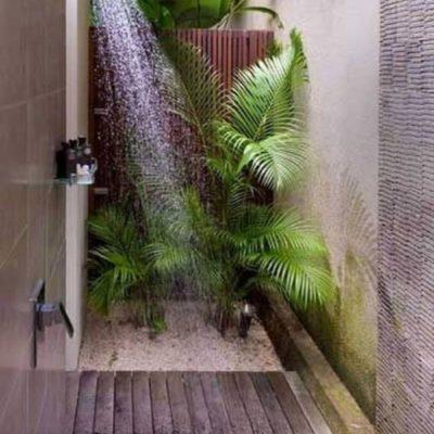 Как обустроить летний душ: советы и оригинальные идеи - фото 7