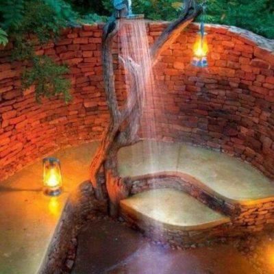 Как обустроить летний душ: советы и оригинальные идеи - фото 8