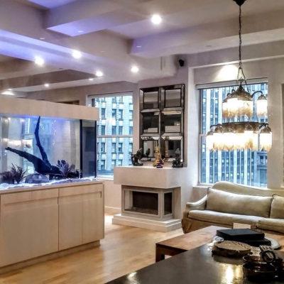 Аквариум в интерьере квартиры или дома - фото 15
