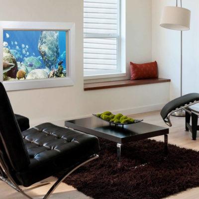 Аквариум в интерьере квартиры или дома - фото 17