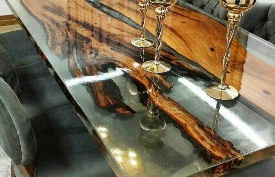 IMG 2372 543x350 - Столы из дерева и эпоксидной смолы: дизайн и функционал