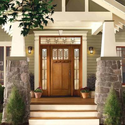 Входные двери: выбор элегантной стражи дома - фото 9
