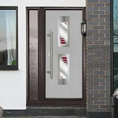 Входные двери: выбор элегантной стражи дома - фото 10