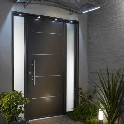 Входные двери: выбор элегантной стражи дома - фото 12