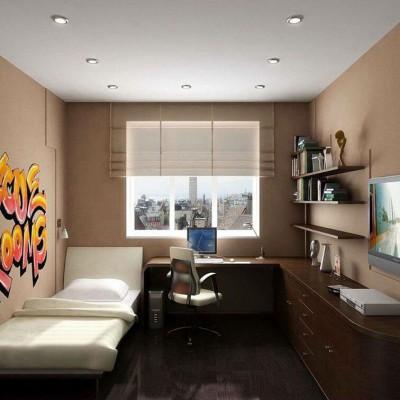 Дизайн детской комнаты для школьника - фото 16