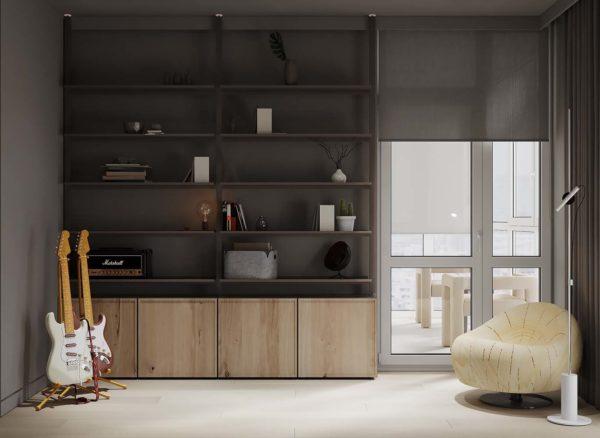 Дизайн интерьера 3-комн.кв «Французский квартал» by ANJEY BABYCH - фото 16