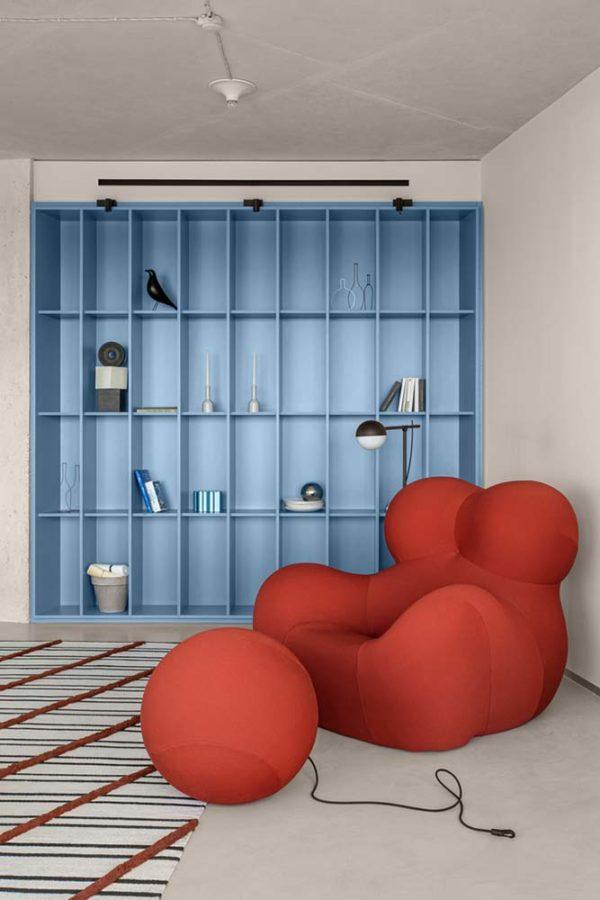 Дизайн интерьера апартаментов «Blue Terracotta» by Rina Lovko Studio - фото 2