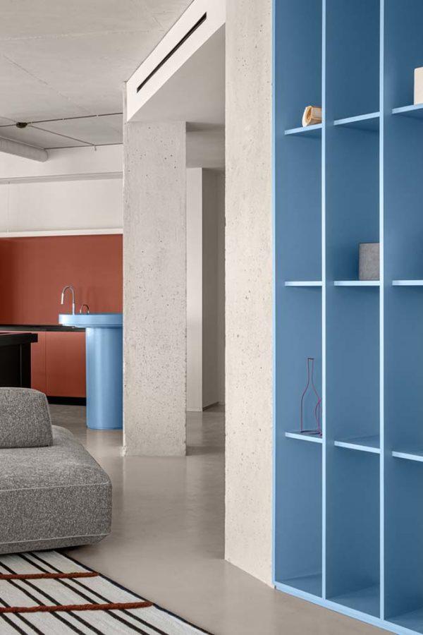 Дизайн интерьера апартаментов «Blue Terracotta» by Rina Lovko Studio - фото 3