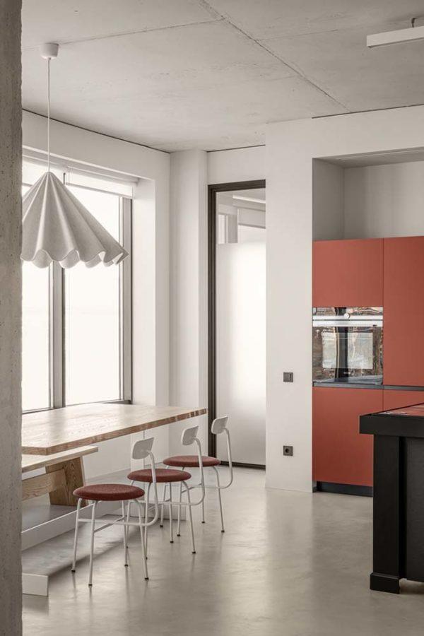 Дизайн интерьера апартаментов «Blue Terracotta» by Rina Lovko Studio - фото 13