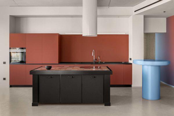 Дизайн интерьера апартаментов «Blue Terracotta» by Rina Lovko Studio - фото 14