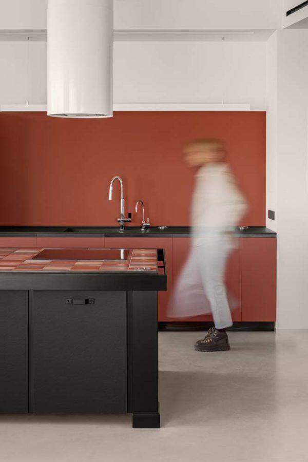 Дизайн интерьера апартаментов «Blue Terracotta» by Rina Lovko Studio - фото 15