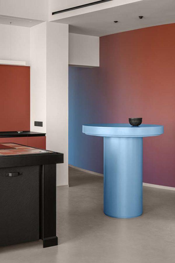 Дизайн интерьера апартаментов «Blue Terracotta» by Rina Lovko Studio - фото 17