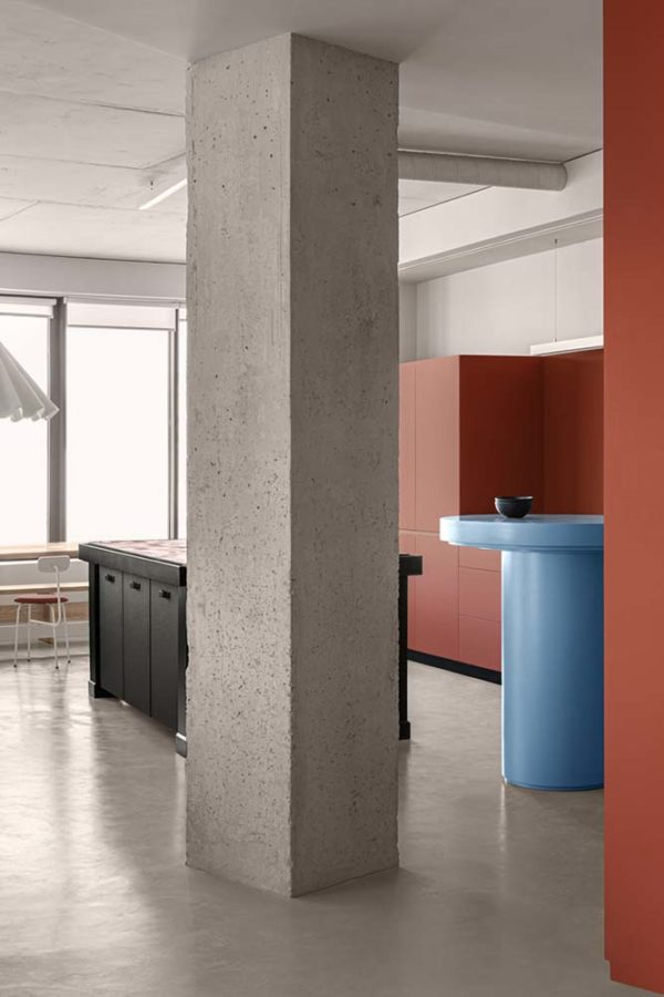 Дизайн интерьера апартаментов «Blue Terracotta» by Rina Lovko Studio - фото 18